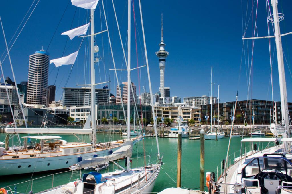 Auckland, Neuseeland, Hafen, http://www.shutterstock.com/de/pic-81055744/stock-photo-auckland-waterfront.html , © (www.shutterstock.com) (10.07.2014)