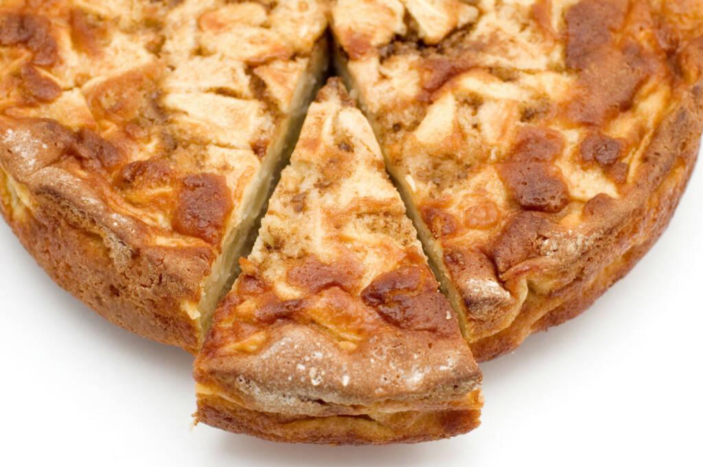 Kuchen, Stück, Torte, Teil, schneiden, abschneiden, http://www.shutterstock.com/de/pic-6034300/stock-photo-apple-pie.html (Bild: shutterstock.com) (11.07.2014)
