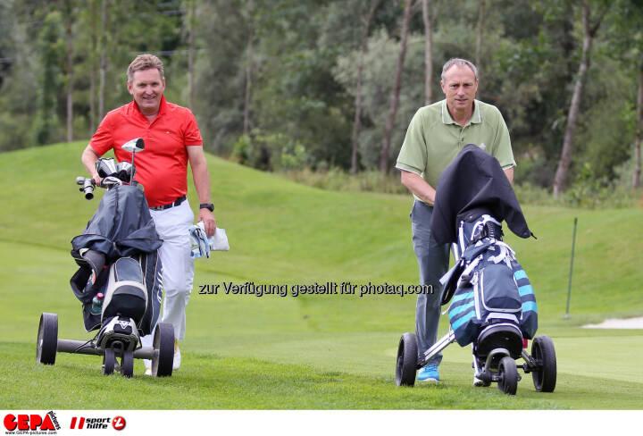 Werner Knausz (ARA) und Anton Schutti (Sporthilfe). Photo: GEPA pictures/ Christian Walgram