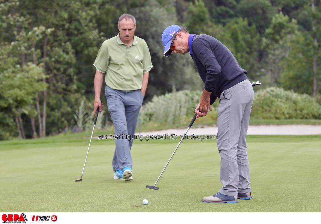 Gerhard Neuwirth and Anton Schutti (Sporthilfe). Photo: GEPA pictures/ Christian Walgram (12.07.2014)