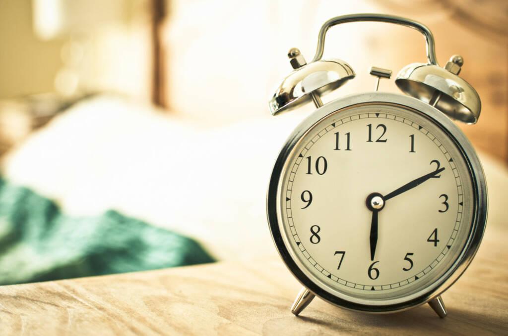 Wecker, Zeit, früh, spät, Geduld, Ungeduld, läuten, schlafen, http://www.shutterstock.com/de/pic-138625004/stock-photo-retro-alarm-clock.html (Bild: shutterstock.com) (12.07.2014)