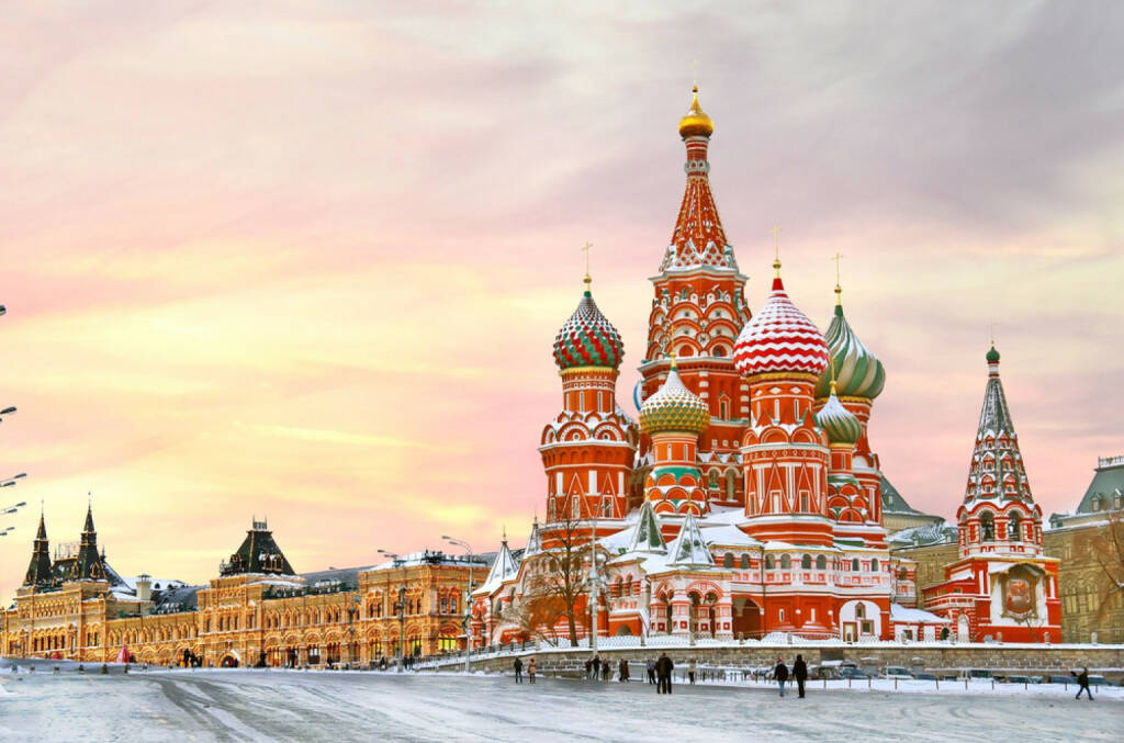 Moskau, roter Platz, Russland, Kreml, http://www.shutterstock.com/de/pic-166350926/stock-photo-moscow-russia-red-square-view-of-st-basil-s-cathedral-in-winter.html , © (www.shutterstock.com) (14.07.2014)