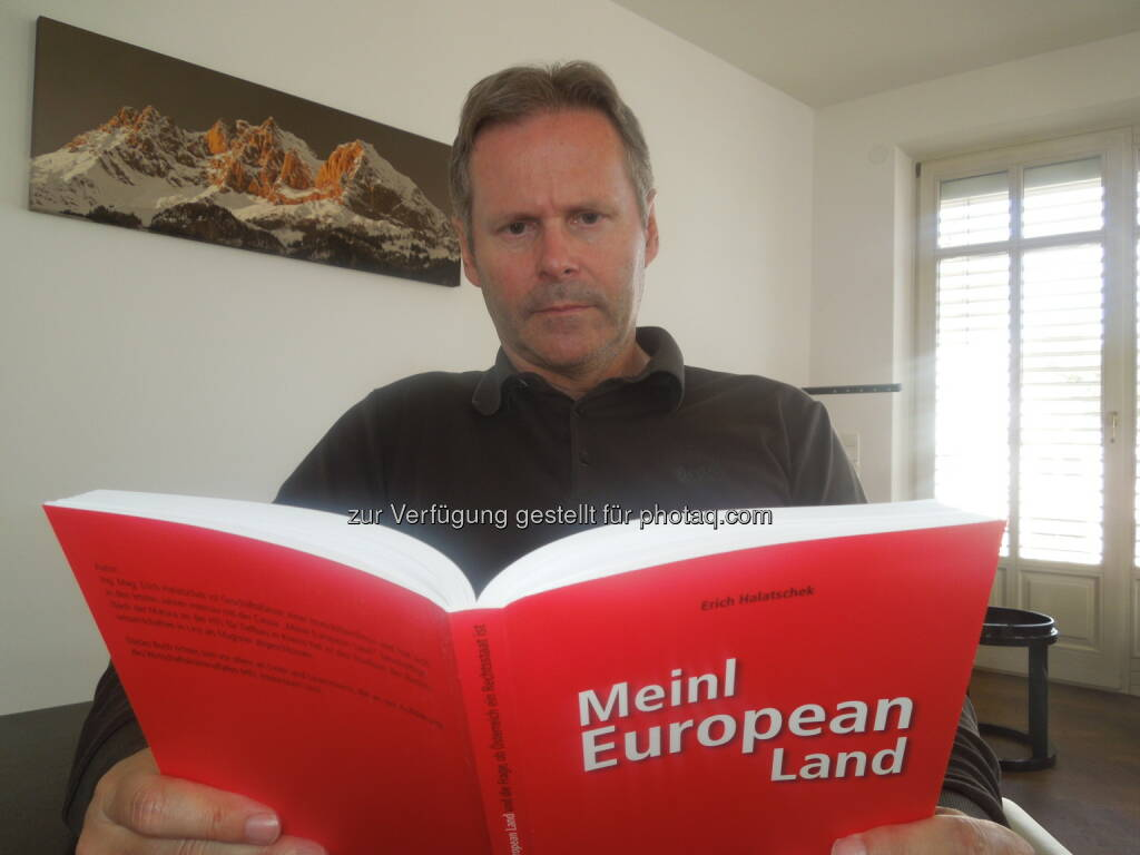 EditionGruber.com: Vom Geschädigten zum Buchautor über Meinl-Fall, Autor Erich Halatschek mit seinem neuen Buch über den Meinl-Fall  (15.07.2014)