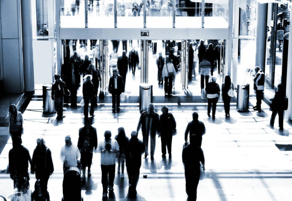 Türe, öffnen, Tag der offenen Tür, Willkommen, herein, hinein, Menschenmassen, Menschen, Strom, strömen, Fluss, Durchfluss, offen, http://www.shutterstock.com/de/pic-12559618/stock-photo-retail-concept.html (15.07.2014)