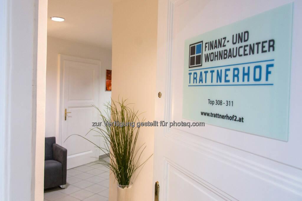 Finanz- und Wohnbaucenter Trattnerhof eröffnet: Eingangsbereich Finanz- und Wohnbaucenter Trattnerhof 2, © Aussender (15.07.2014)