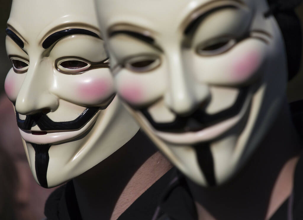 Anonymous , Occupy, Guy Fawkes Maske, <a href=http://www.shutterstock.com/gallery-169246p1.html?cr=00&pl=edit-00>Rob Kints</a> / <a href=http://www.shutterstock.com/?cr=00&pl=edit-00>Shutterstock.com</a> (18.07.2014)