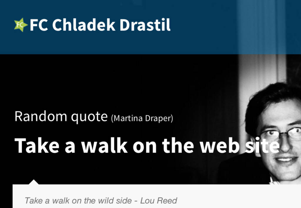Take a walk on the web site (18.07.2014)