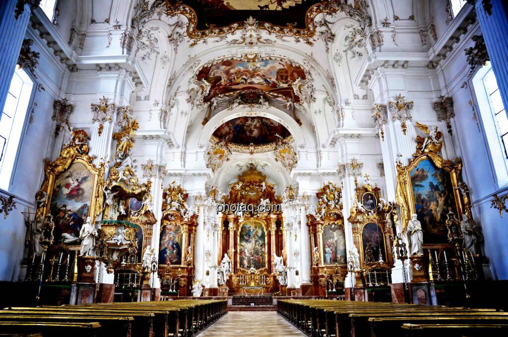 Kirche, Barock, Gold, © photaq.com (21.07.2014)