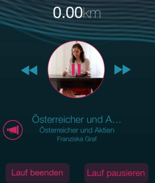 Österreicher und Aktien von Franziska Graf auf Runplugged, http://www.runplugged.com/spreadit (25.07.2014)