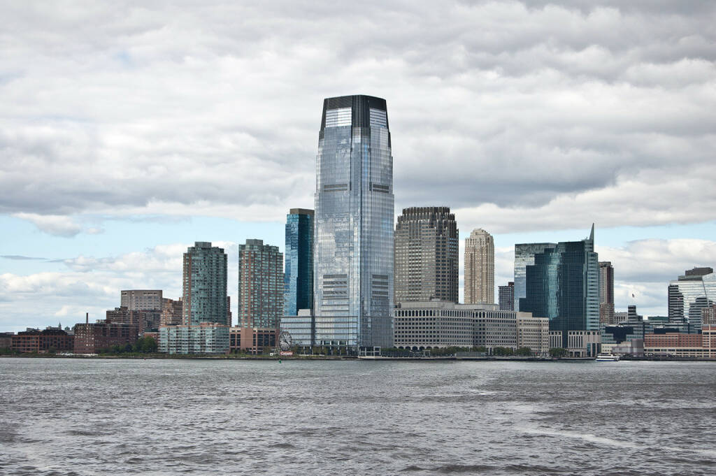 Goldman Sachs Tower, Jersey City, http://www.shutterstock.com/de/pic-68405743/stock-photo-goldman-sachs-tower-jersey-city-build-in-the-tallest-building-in-new-jersey.html (25.07.2014)