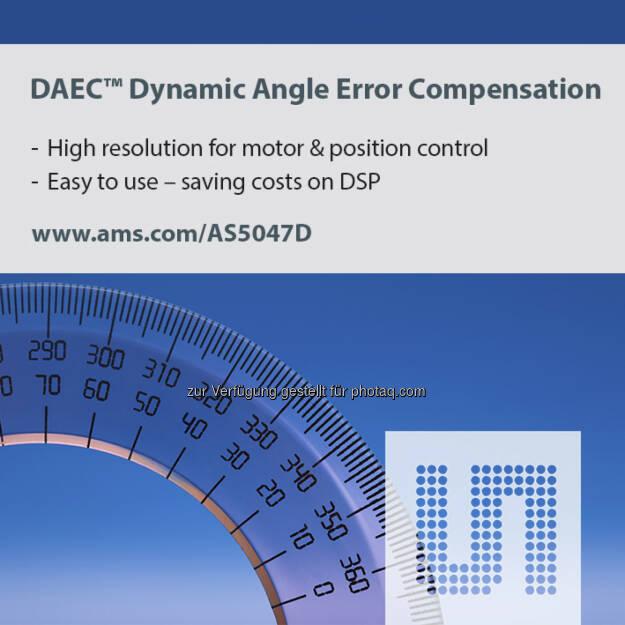 ams Magnetic Position Sensor, austriamicrosystems (Bild: ams), © Aussender (29.07.2014)