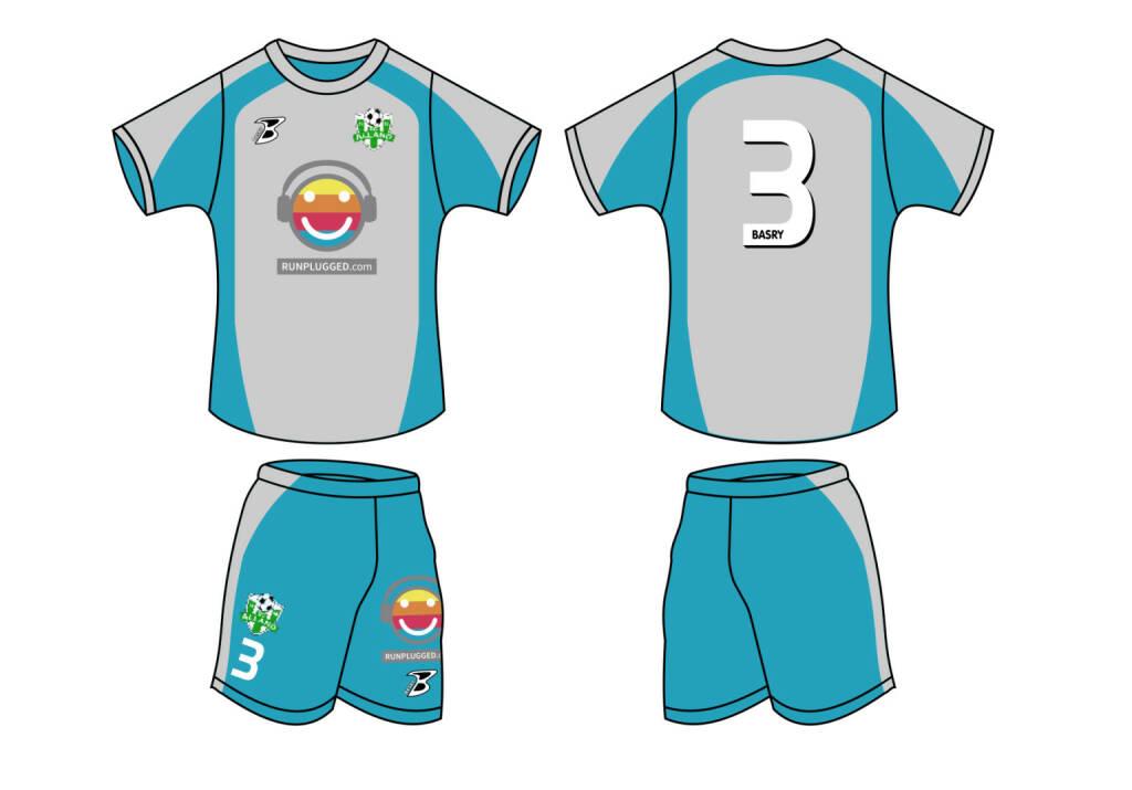 Feldspieler-Dress - Runplugged stattet für 2014/15 den Fussballclub SC Alland aus http://www.sc-alland.at (30.07.2014)