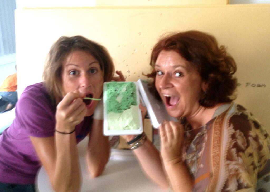 wikifolio grünes Eis gebracht: Christina Oehler, Alexandra Manhart (30.07.2014)
