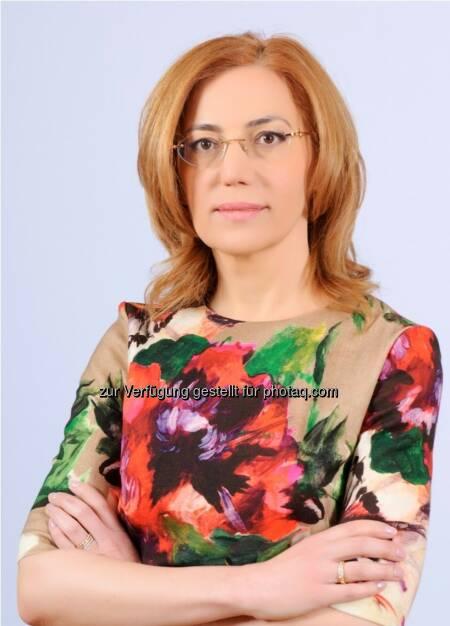 Vorstandsvorsitzenden der Ukrplastic AG Irina Mirochnik, © Aussender (31.07.2014)