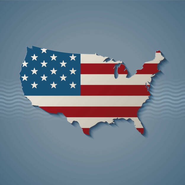 USA, Flagge, Land, Stars and Stripes - http://www.shutterstock.com/de/pic-171180743/stock-vector-united-states-eps-vector.html, © www.shutterstock.com (17.01.2018)