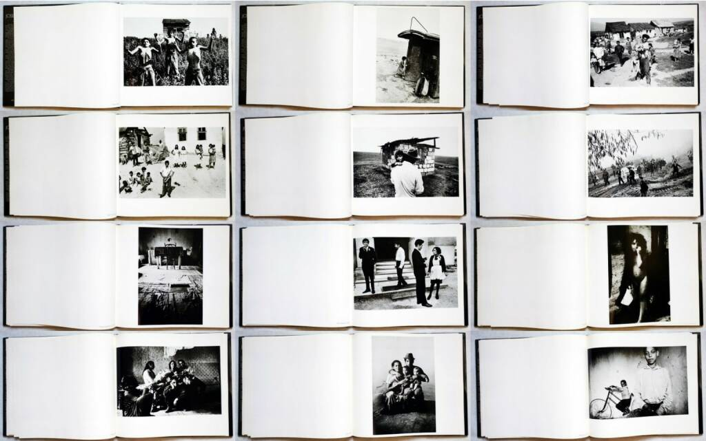Josef Koudelka - Gypsies, Aperture, 1975, Beispielseiten, sample spreads - http://josefchladek.com/book/josef_koudelka_-_gypsies, © (c) josefchladek.com (02.08.2014)