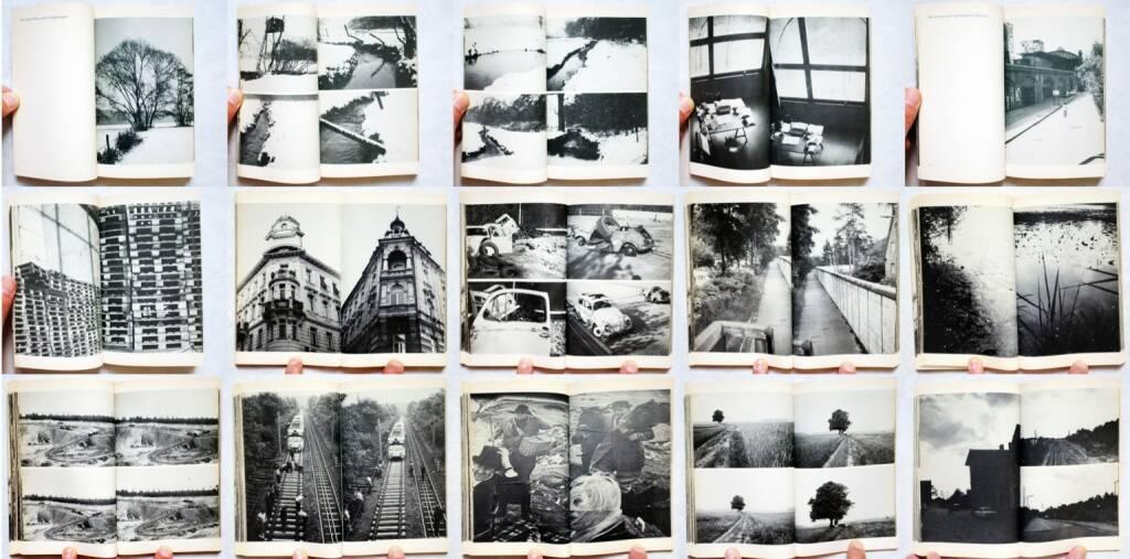 Jürgen Becker - Eine Zeit ohne Wörter, Suhrkamp, 1971, Beispielseiten, sample spreads - http://josefchladek.com/book/juergen_becker_-_eine_zeit_ohne_woerter, © (c) josefchladek.com (04.08.2014)