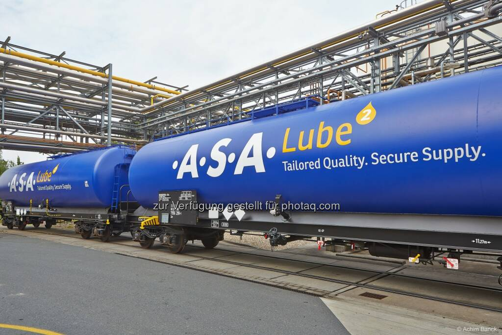 .A.S.A. Abfall Service schafft mit .A.S.A. Lube eine Sekundärrohstoff-Marke für Altöl / Urban Mining statt Recycling - Werte aus dem Abfall holen: neue Kesselwägen für den Transport, © Aussender (05.08.2014)