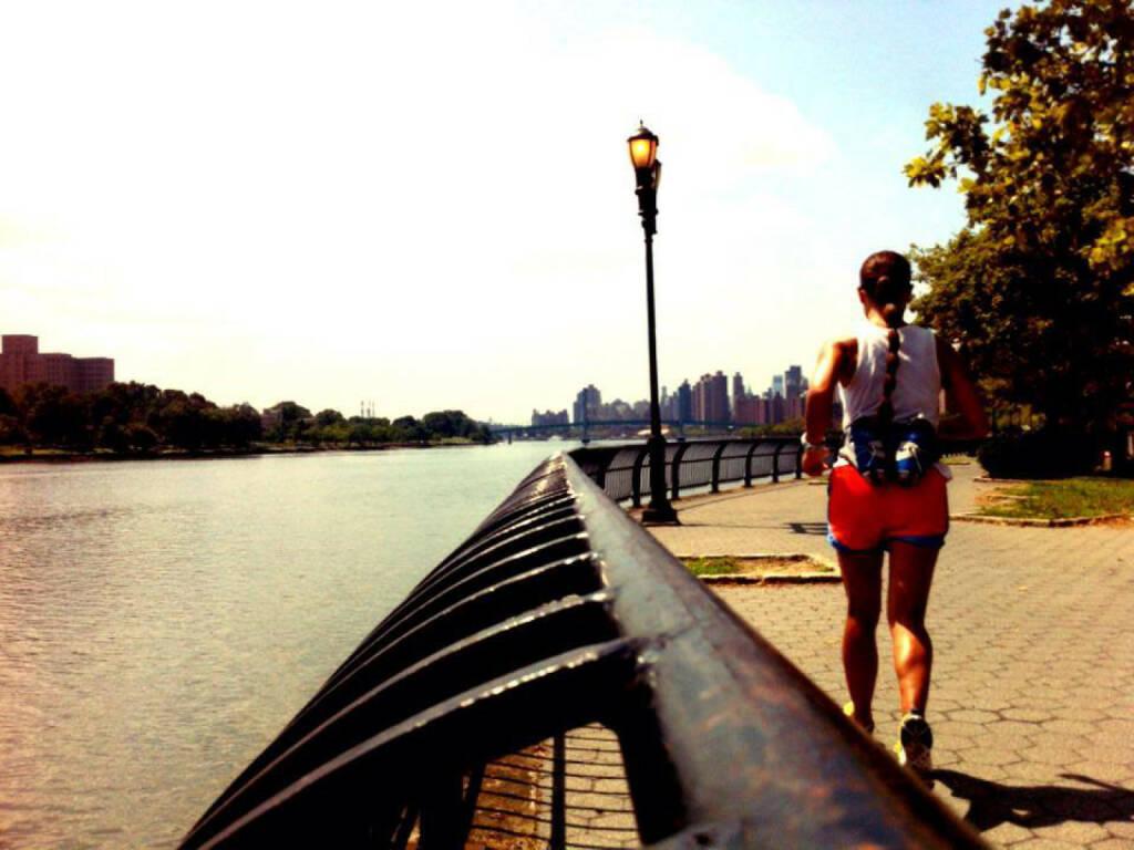 Runplugged, Monika Kalbacher umrundet Manhattan, https://www.facebook.com/kalbacher.monika (05.08.2014)