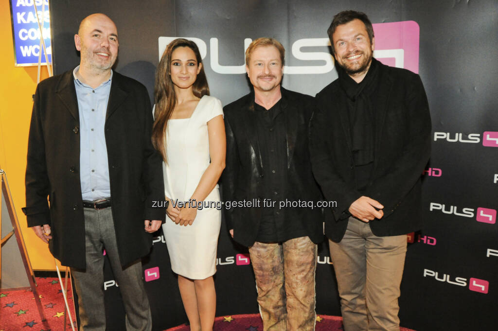 Lukas Sturm, Asli Bayram, Robert Hofferer, Markus Breitenecker -  Body Complete. Der erste PULS 4 Kinofilm feierte seinen Start (c) Joanna pianka für Society24.at (16.01.2013)