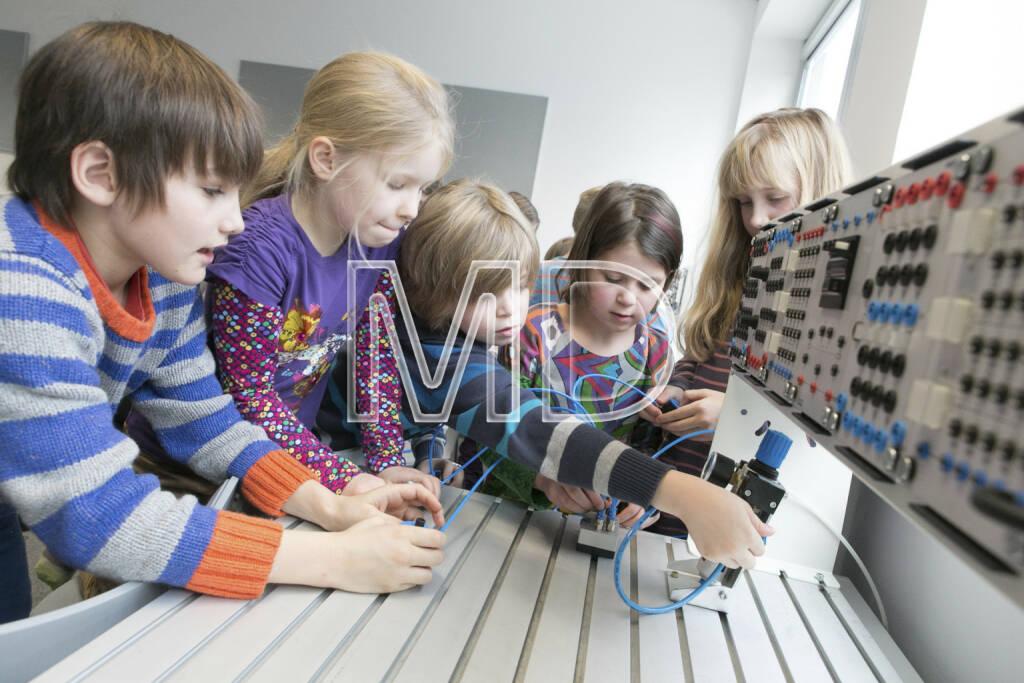 Workshop Wiener Science Lectures bei Festo Luft ist nicht nix, © Martina Draper für Festo (16.01.2013)