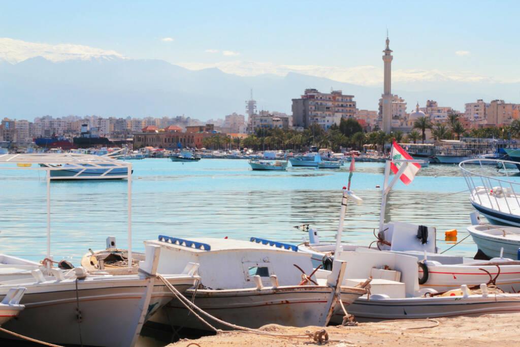 Tripolis, Libanon, http://www.shutterstock.com/de/pic-126744632/stock-photo-sea-port-tripoli-lebanon.html, © (www.shutterstock.com) (11.08.2014)