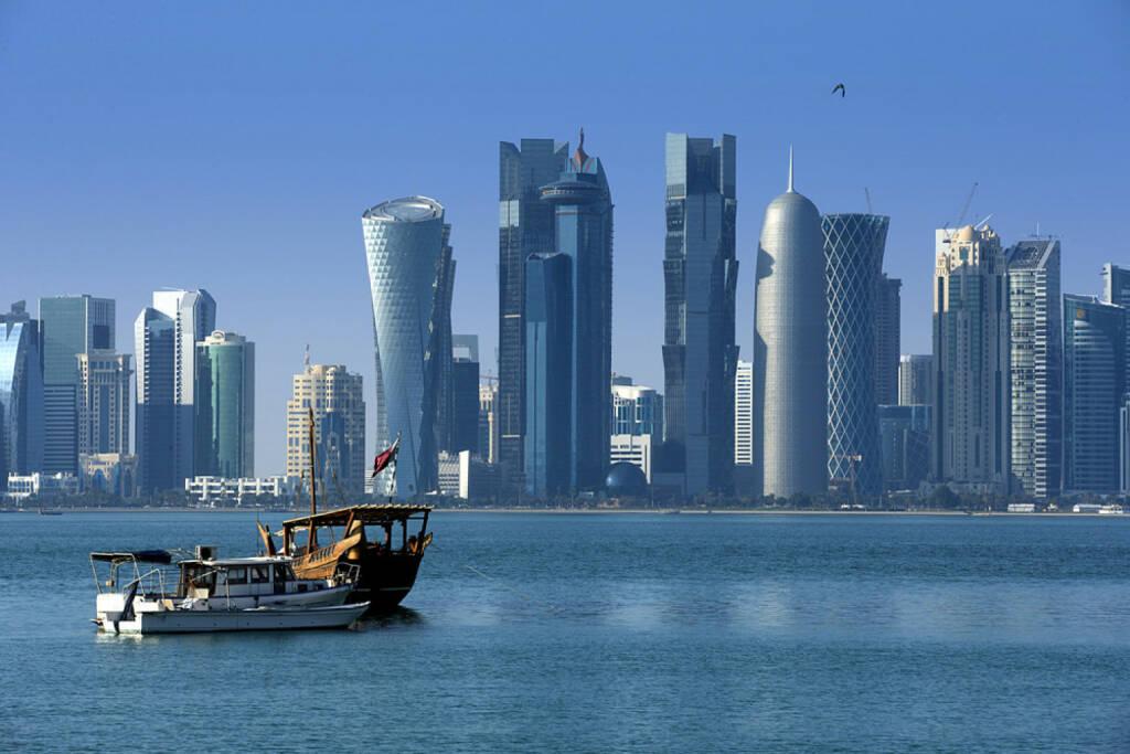 Doha, Katar, http://www.shutterstock.com/de/pic-172611632/stock-photo-modern-city-in-doha.html, © (www.shutterstock.com) (11.08.2014)