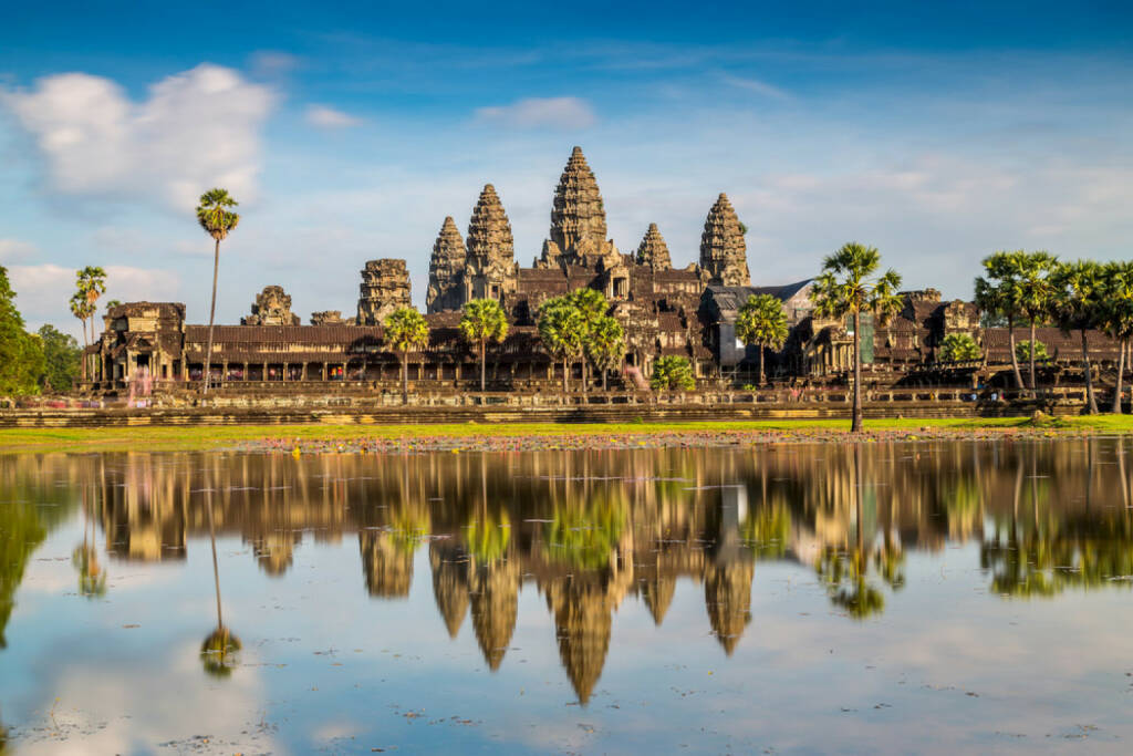 Angkor Wat, Kambodscha, Tempel, http://www.shutterstock.com/de/pic-166183376/stock-photo-angkor-wat-temple-siem-reap-cambodia.html, © (www.shutterstock.com) (11.08.2014)