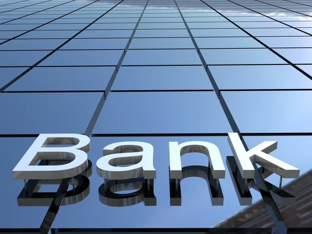 Bank, neutral, Banken http://www.shutterstock.com/de/pic-132914387/stock-photo-bank-building-d-images.html, © www.shutterstock.com (17.01.2018)