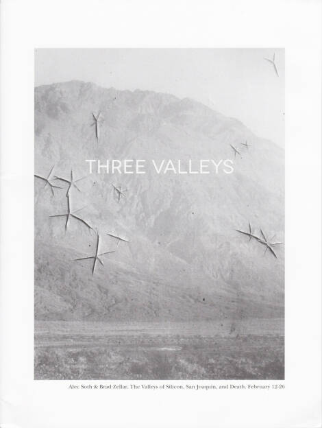 Alec Soth and Brad Zellar - LBM Dispatch #4: Three Valleys, LBM, 2013, Cover - http://josefchladek.com/book/_alec_soth_and_brad_zellar_-_lbm_dispatch_4_three_valleys, © (c) josefchladek.com (14.08.2014)