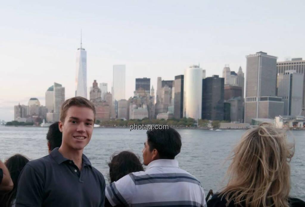Manhattan, New York, Gerald Pollak auf seiner YPD Reise., © Gerald Pollak (14.08.2014)