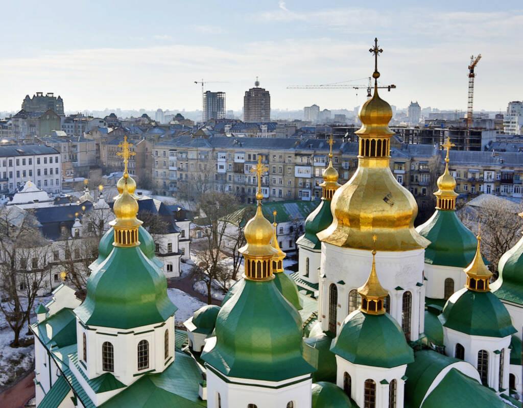 Kiew, Ukraine, Sofia Kathedrale, http://www.shutterstock.com/de/pic-134606834/stock-photo-the-sophia-cathedral-in-kiev.html , © shutterstock.com (15.08.2014)
