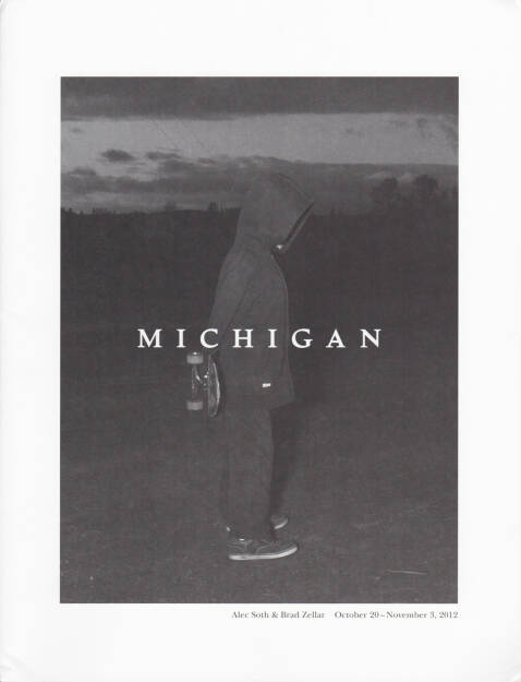 Alec Soth and Brad Zellar - LBM Dispatch #3: Michigan, LBM, 2012, Cover - http://josefchladek.com/book/alec_soth_and_brad_zellar_-_lbm_dispatch_3_michigan, © (c) josefchladek.com (15.08.2014)