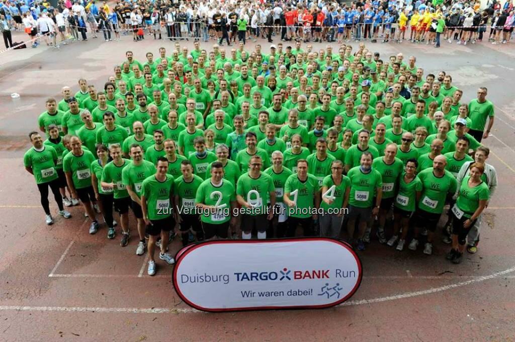 557 Mitarbeiter, 5,9 km und ganz viel Sportsgeist – Beim 9. Targobank Run in Duisburg war #ThyssenKrupp mit dem größten Team am Start! Danke an alle Läuferinnen und Läufer!  Source: http://facebook.com/ThyssenKruppCareer, © Aussendung (15.08.2014)