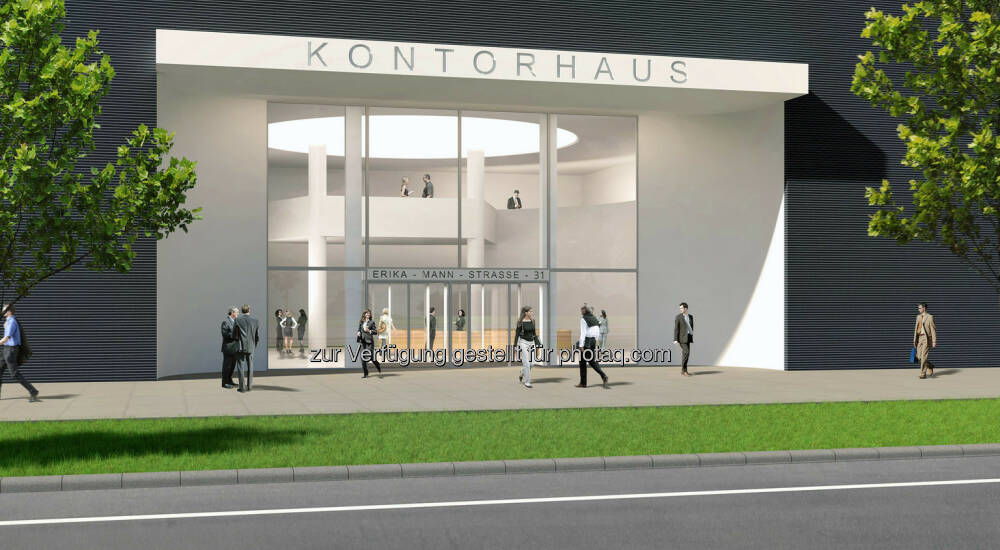 arnulfpark m nchen b rogeb ude kontorhaus haupteingang. Black Bedroom Furniture Sets. Home Design Ideas