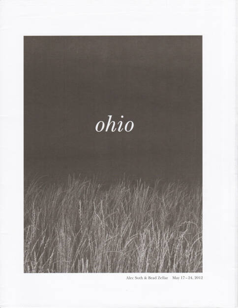 Alec Soth and Brad Zellar - LBM Dispatch #1: Ohio, Little Brown Mushroom, 2012, Cover -http://josefchladek.com/book/alec_soth_and_brad_zellar_-_lbm_dispatch_1_ohio, © (c) josefchladek.com (22.08.2014)