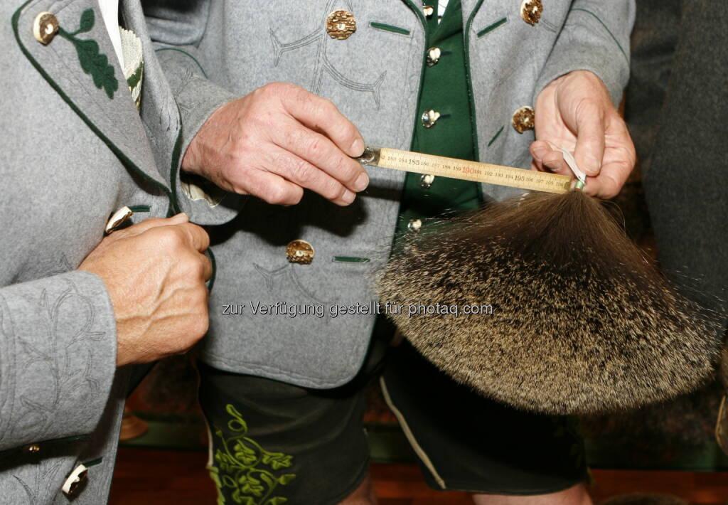 Gamsjagatage (vom 29. bis 31. August) mit Gamsbart Olympiade in Bad Goisern (Bild: Doris Dännhardt, Verein Gamsjagatage), © Aussender (23.08.2014)