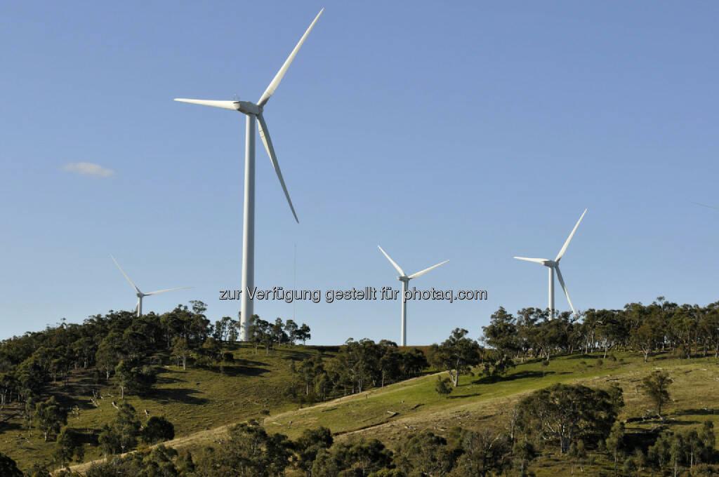 Origin Energy, Windpark, Australien, Cullerin Range (Bild: Origin Energy http://www.originenergy.com.au/1710/Image-library), © www.shutterstock.com (18.03.2018)