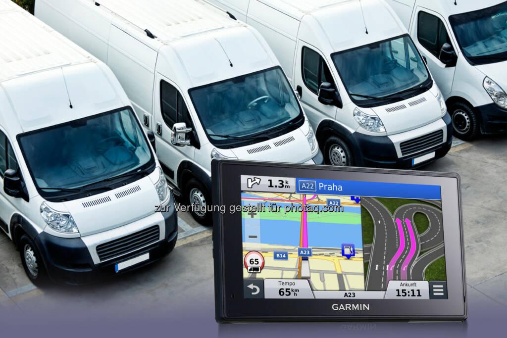 Garmin stellt auf Android basierend Modelle für Flottennavigation und -logistik vor (Bild: Garmin) (25.08.2014)