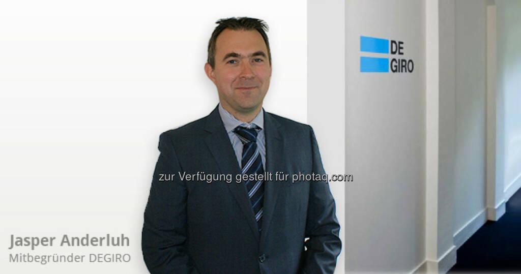 Jasper Anderluh startet mit seiner Brokerage unter degiro.at nun auch in Österreich, © Aussender (27.08.2014)