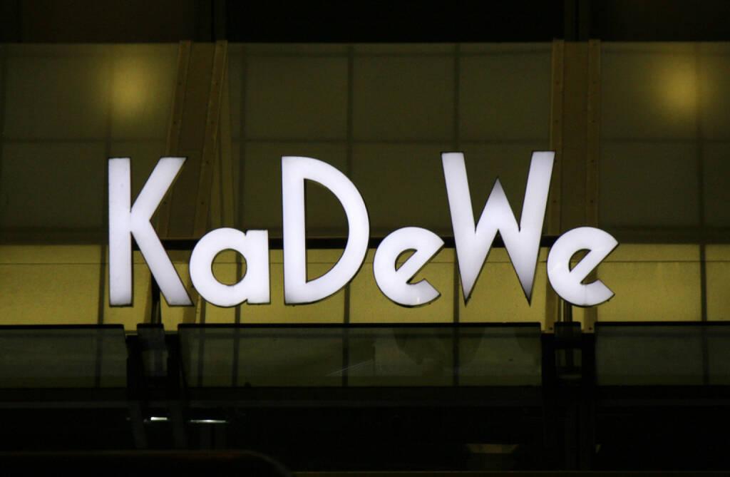 KaDeWe, Kaufhaus des Westens, Kadewe, <a href=http://www.shutterstock.com/gallery-320989p1.html?cr=00&pl=edit-00>360b</a> / <a href=http://www.shutterstock.com/editorial?cr=00&pl=edit-00>Shutterstock.com</a>, 360b / Shutterstock.com, © www.shutterstock.com (28.08.2014)