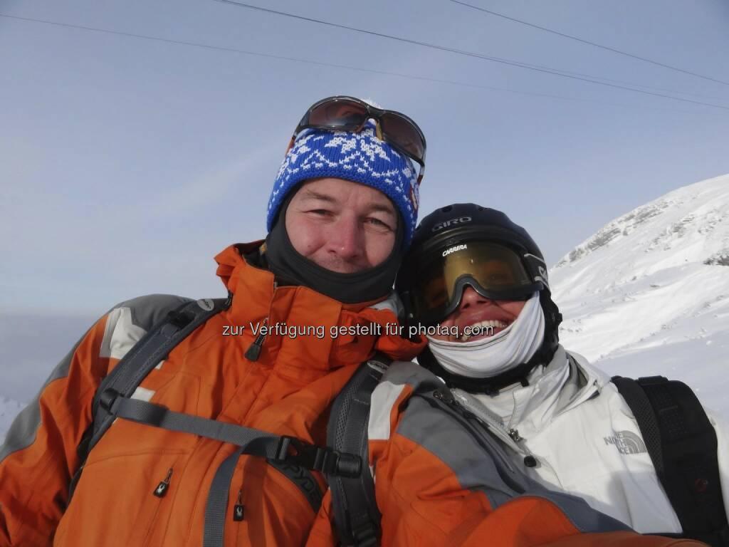 wingsofkilimanjaro: heute eine letzte harte Trainingseinheit, Skitour 1.600 HM Obertraun - Krippenstein wollte noch ein Flügerl dranhängen, das Thermometer hat aber eindeutig dagegen gesprochen ;-), © Karl Mauracher (19.01.2013)