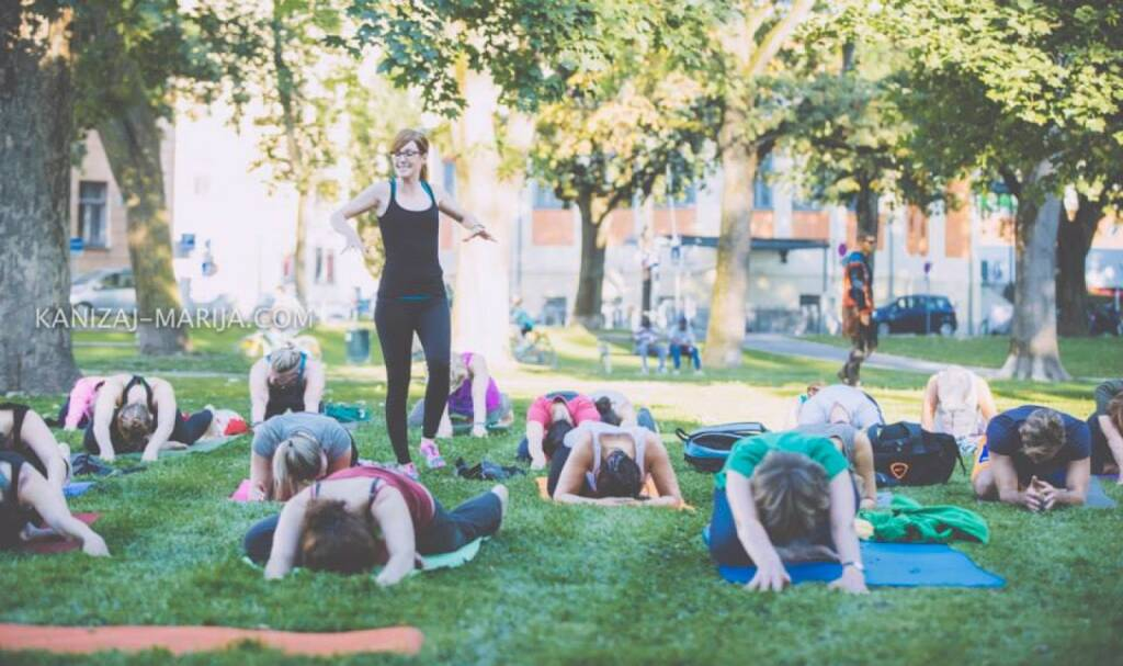 Monika Kletzmayr, Yoga, © Marija Kanizaj (30.08.2014)