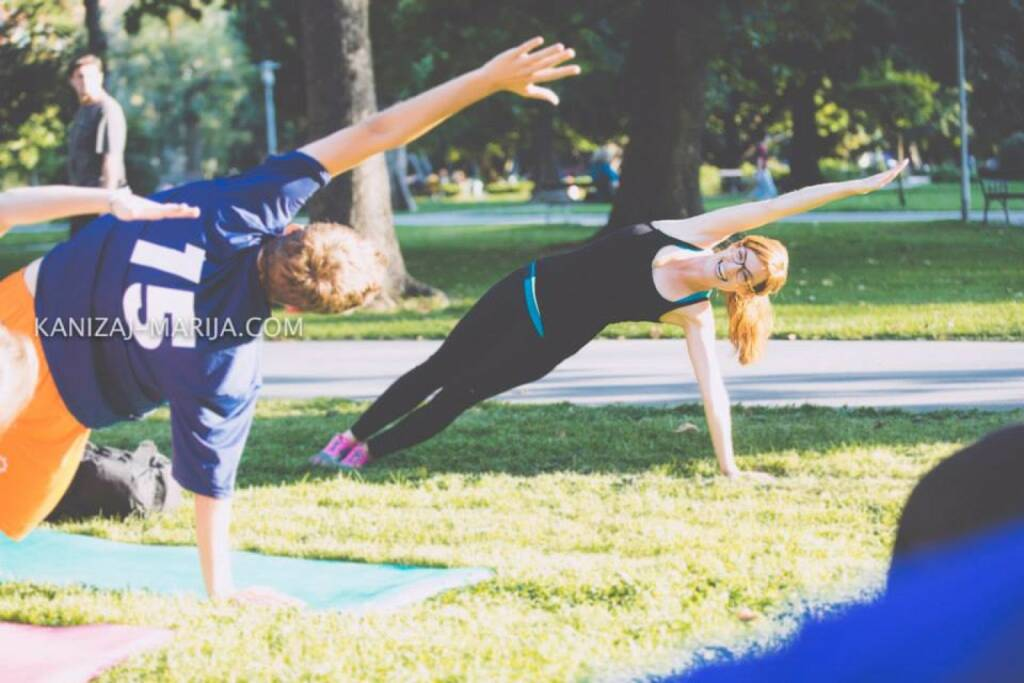 Monika Kletzmayr, Yoga, Richtung, Chart steigend, © Marija Kanizaj (30.08.2014)