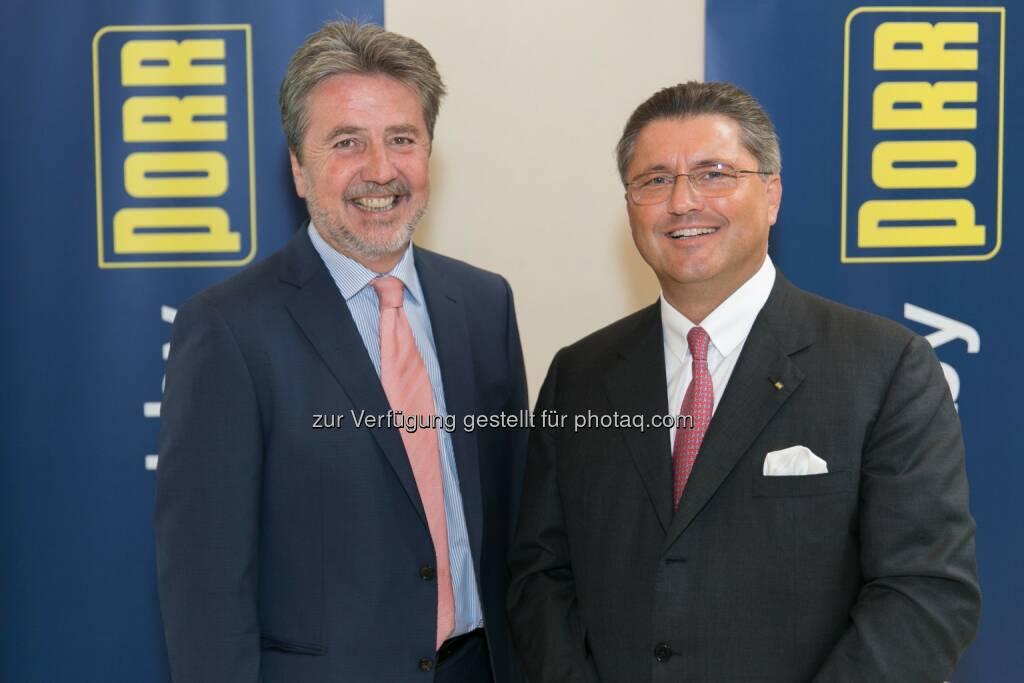 UBM Realitätenentwicklung AG: Karl Bier, CEO; Porr AG: Karl-Heinz Strauss, CEO: Halbjahresbilanz 2014: Porr steigert Gewinn deutlich, © Aussender (01.09.2014)