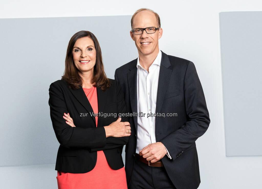 Edith Stier-Thompson und Frank Stadthoewer leiten ab sofort gemeinsam die Geschicke der dpa-Tochter news aktuell, © Aussender (03.09.2014)