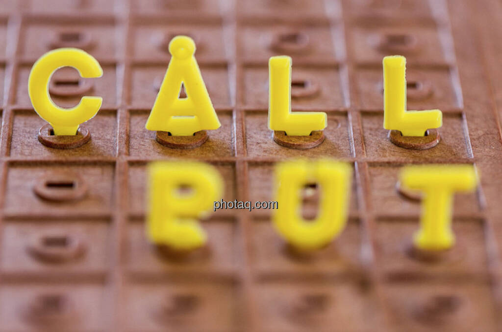 Call, Put, Optionen (c) Martina Draper (21.01.2013)
