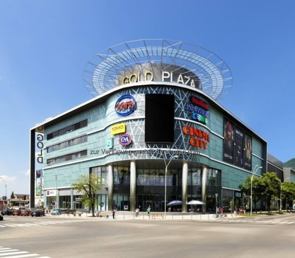 Gold Plaza Baia Mare, Rumänien: Unter den empfohlenen Properties auf http://properties.immofinanz.com/ (c) Immofinanz (23.01.2013)
