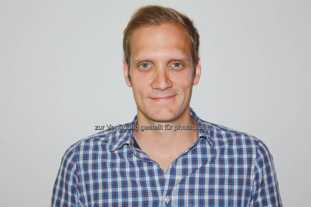 Florian Janousek ist ab sofort für Weiterentwicklung der oe24-Portale zuständig., © Aussender (10.09.2014)