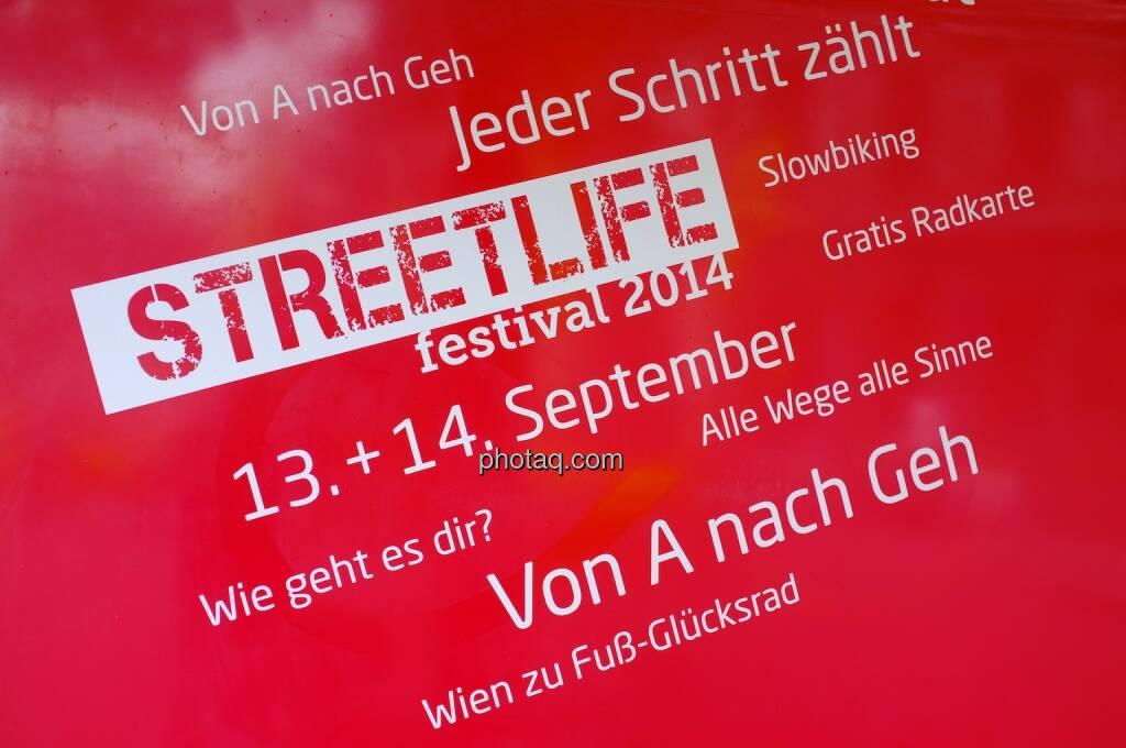 Streetlife Festival 2014 - 13.,14.9.2014 Jeder Schritt zählt, © photaq.com (14.09.2014)